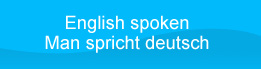 English spoken - Man spricht deutsch